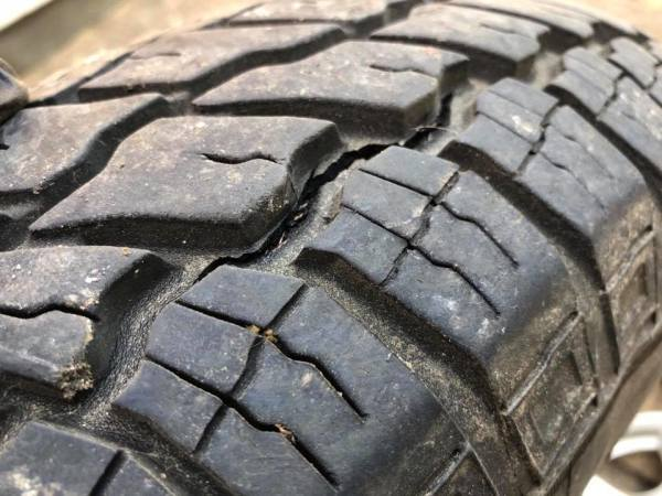 BE SAFE - REGULARLY CHECK TYRES