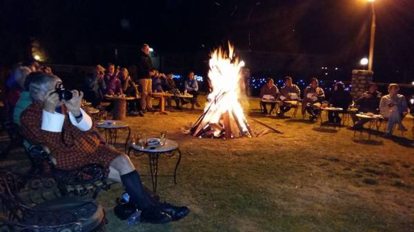Inviting Open Bonfire