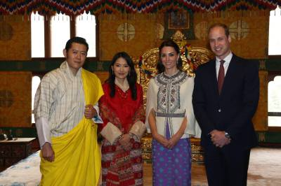 Duke and Duchess Visits Bhutan
