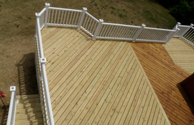 Decks, Porches, Patios & Stairs