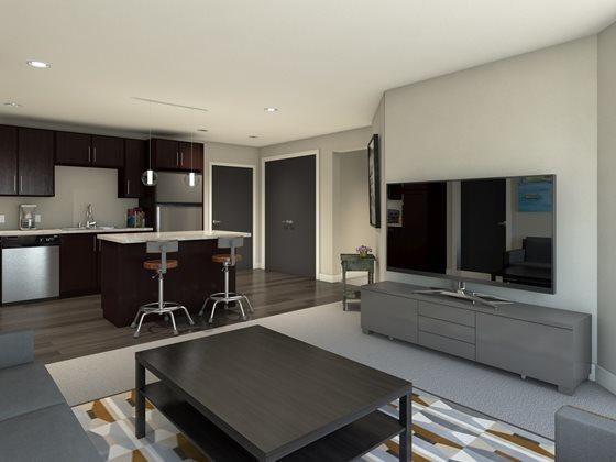 The Fillmore Kitchen & Livingroom