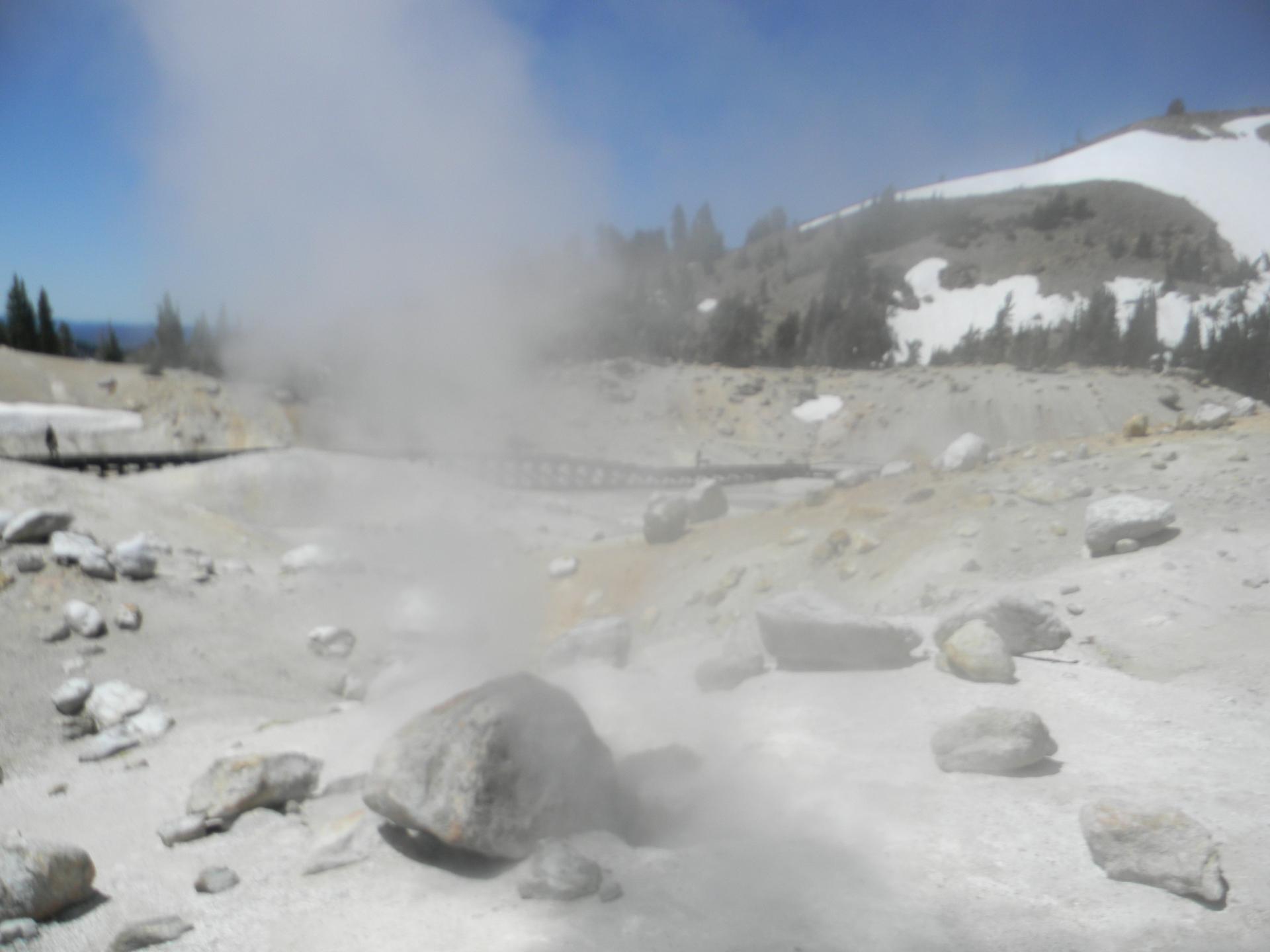 Kayaking a Yellowstone Super Eruption