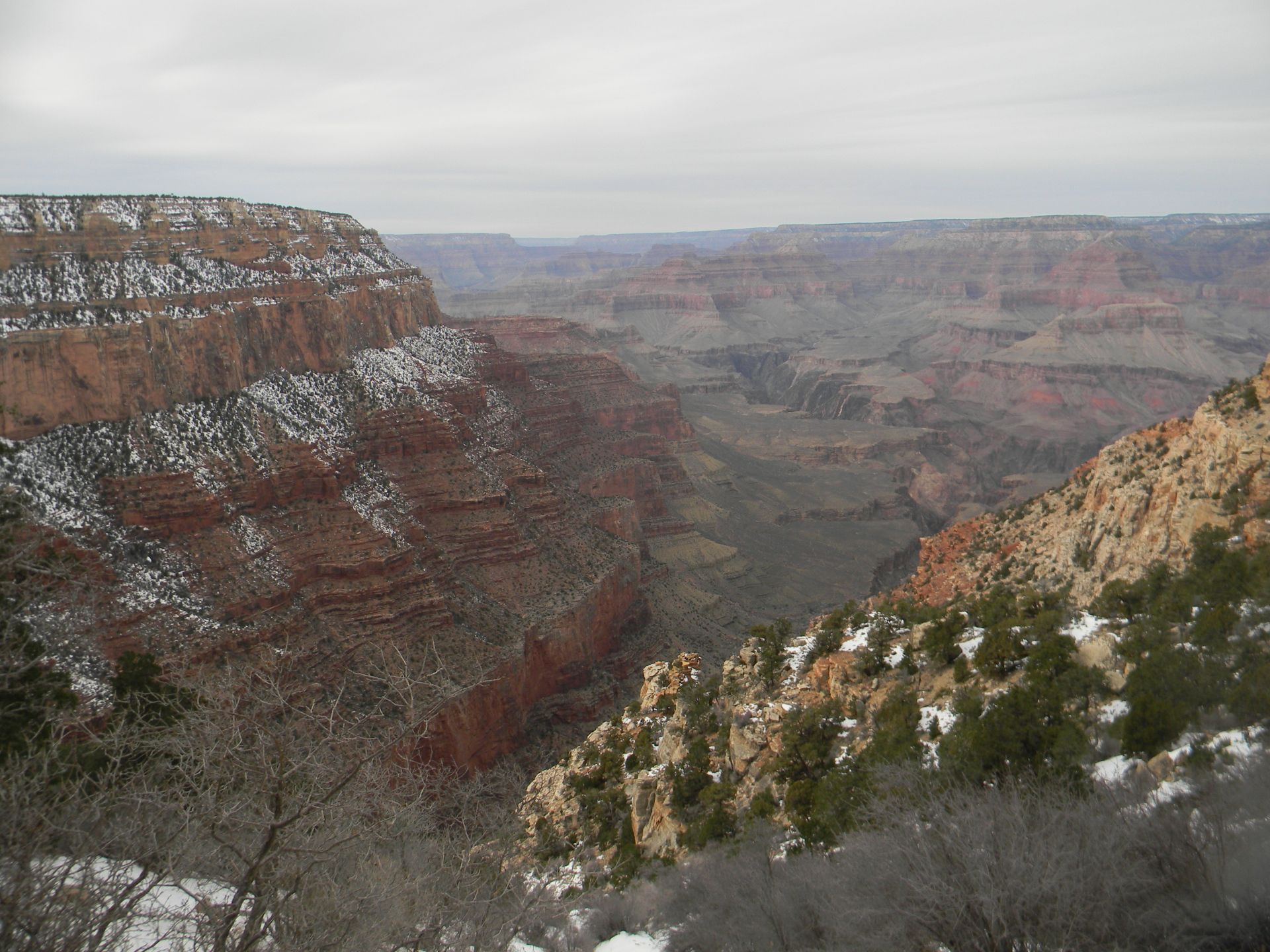 Winter at South Rim Grand Canyon