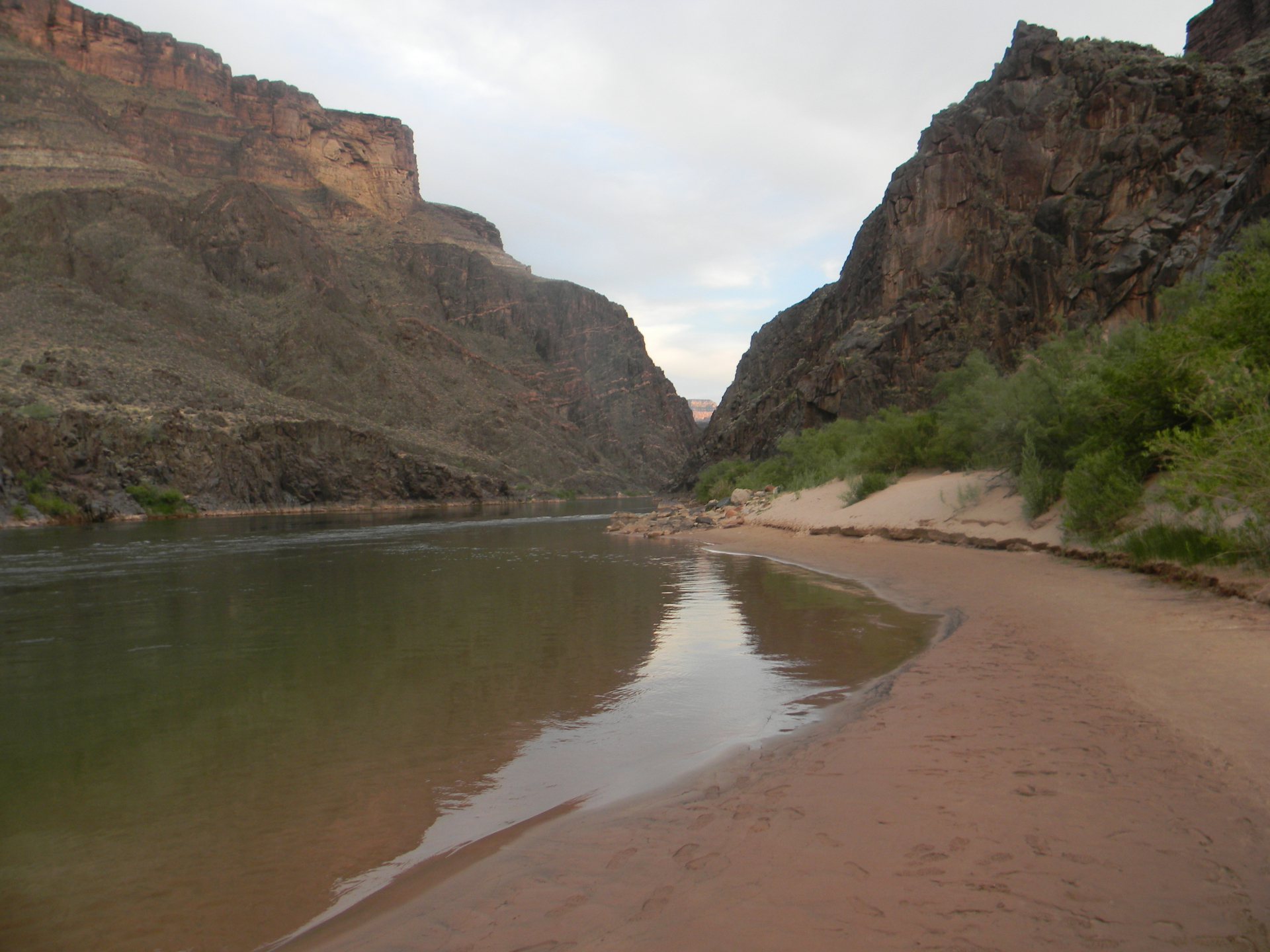 Mighty Colorado River, Grand Canyon