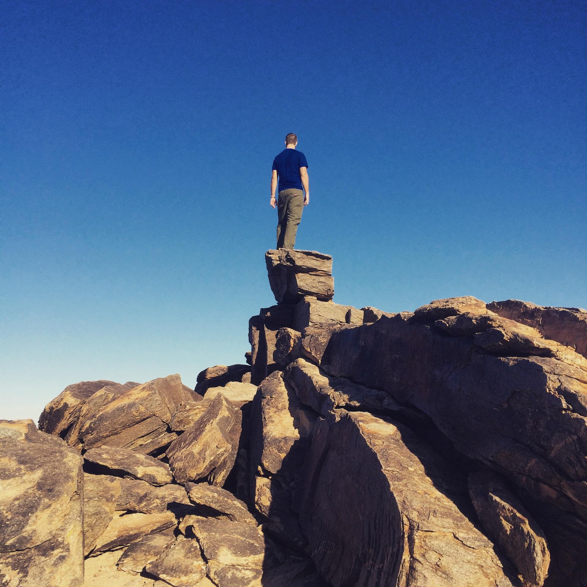 The View, Sonoran Desert, Arizona Backpacking