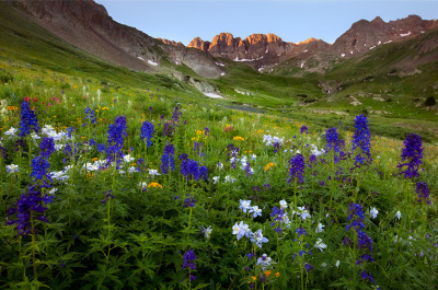 American Basin, Rocky Mountains