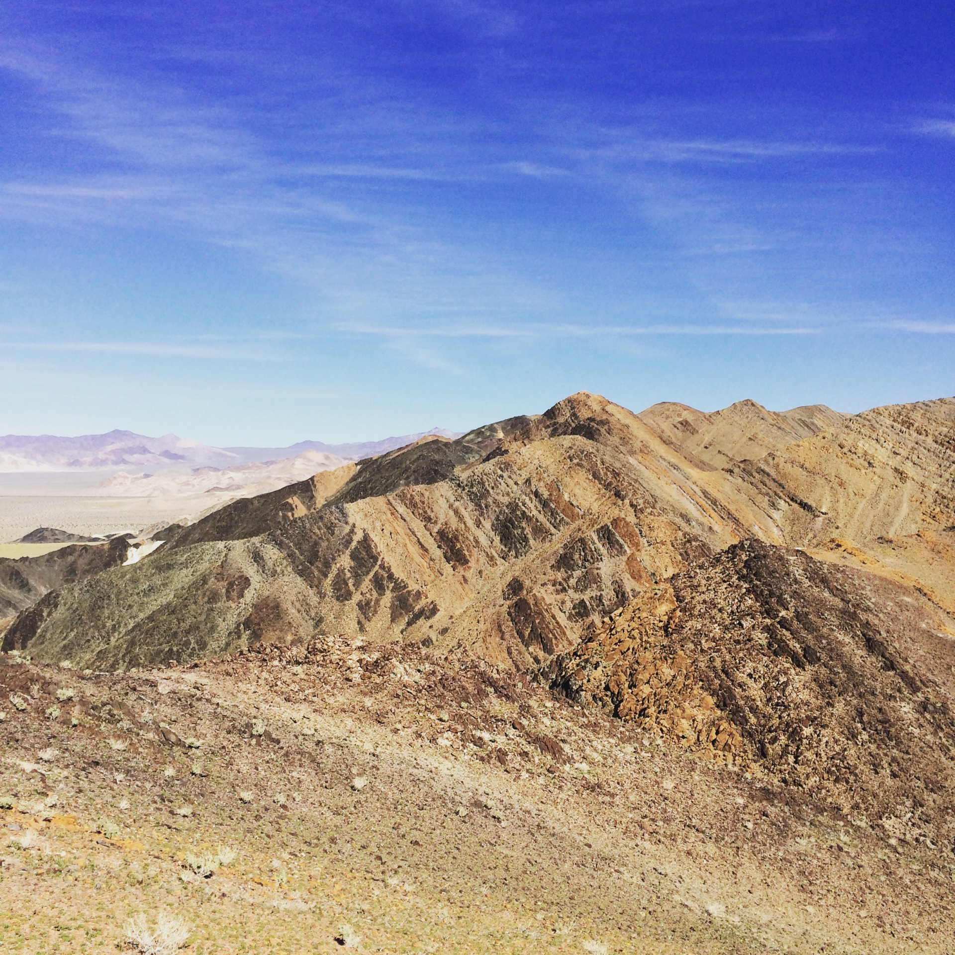Funeral Mountains, Death Valley