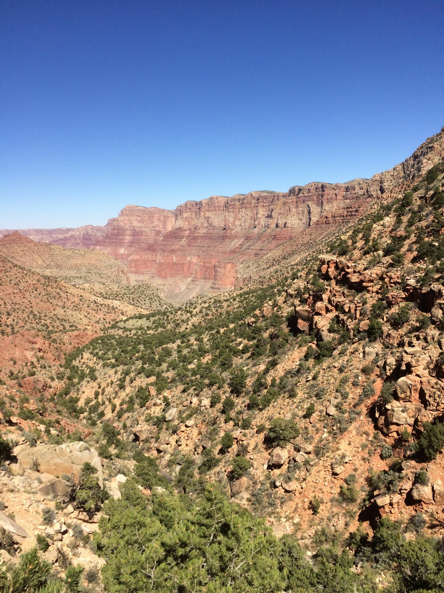 grand canyon grandview trail hiking