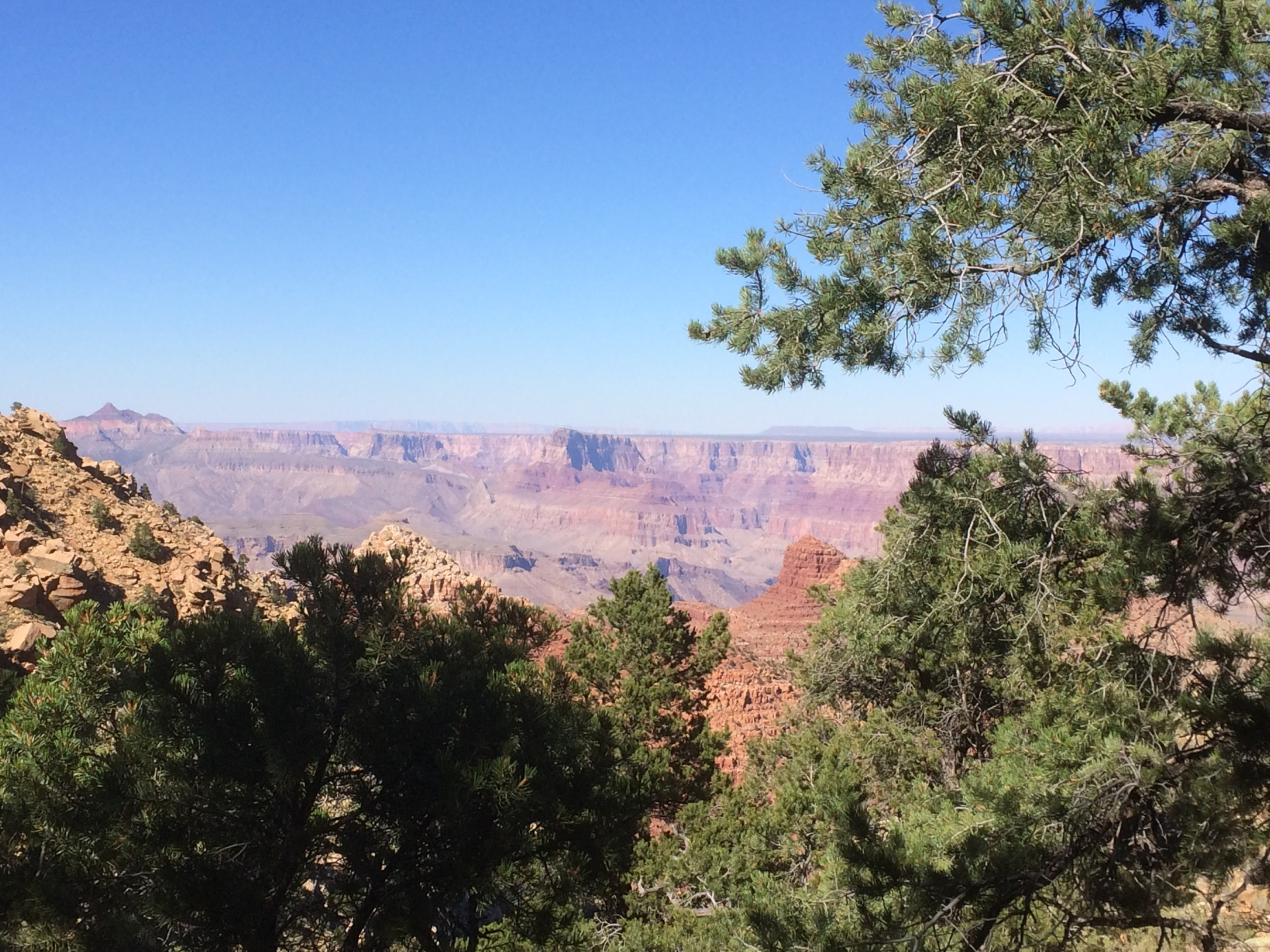 grand canyon hiking and backpacking