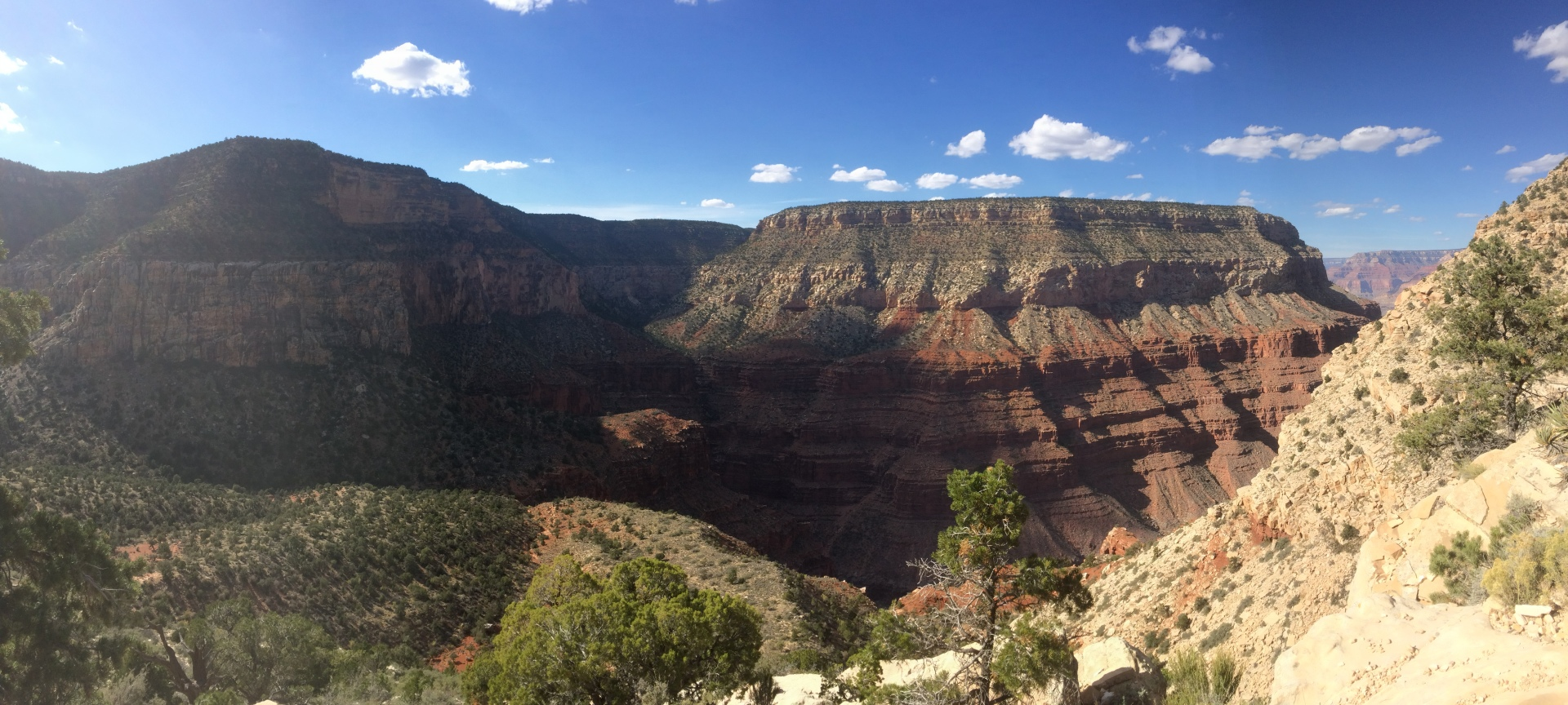 grand canyon backpacking hermit trail south rim hiking