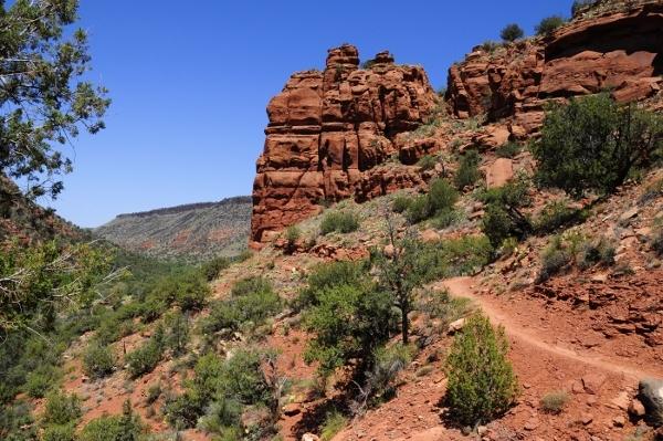 bell trail mogollon rim hiking