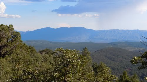 mogollon rim hiking