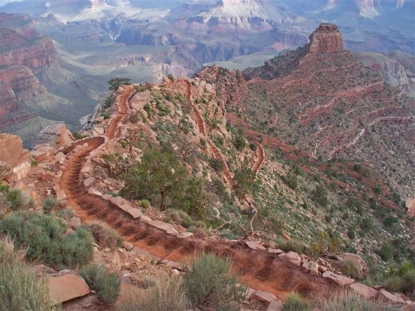 grand canyon backpacking south kaibab bright angel phantom ranch