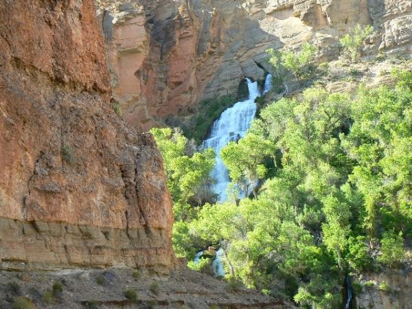 grand canyon thunder river backpacking