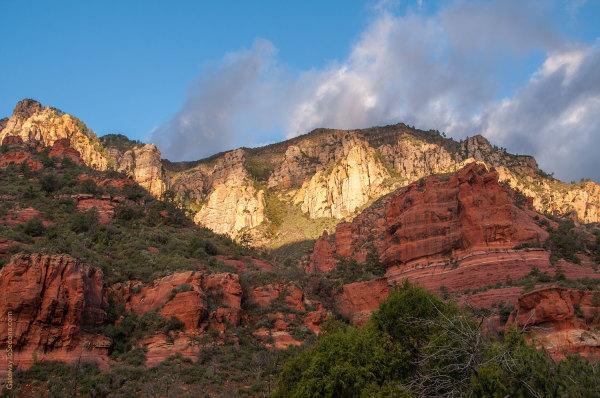 sedona hiking and backpacking