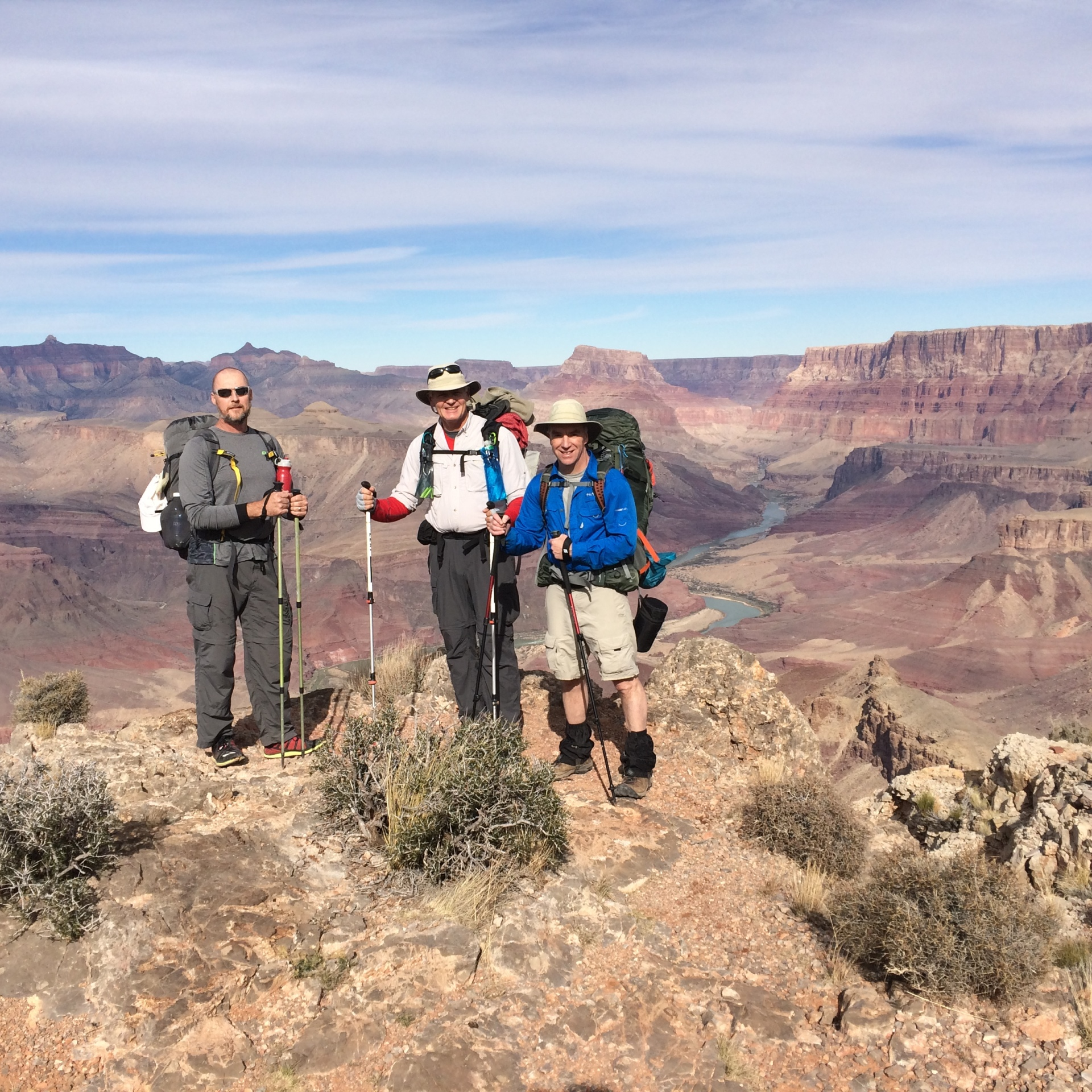 Three Amigos, Grand Canyon