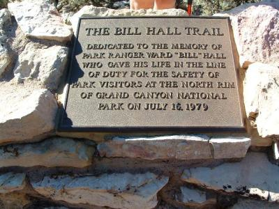 Bill Hall Trail, Grand Canyon