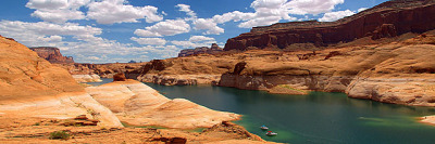 Lake Powell near West Canyon