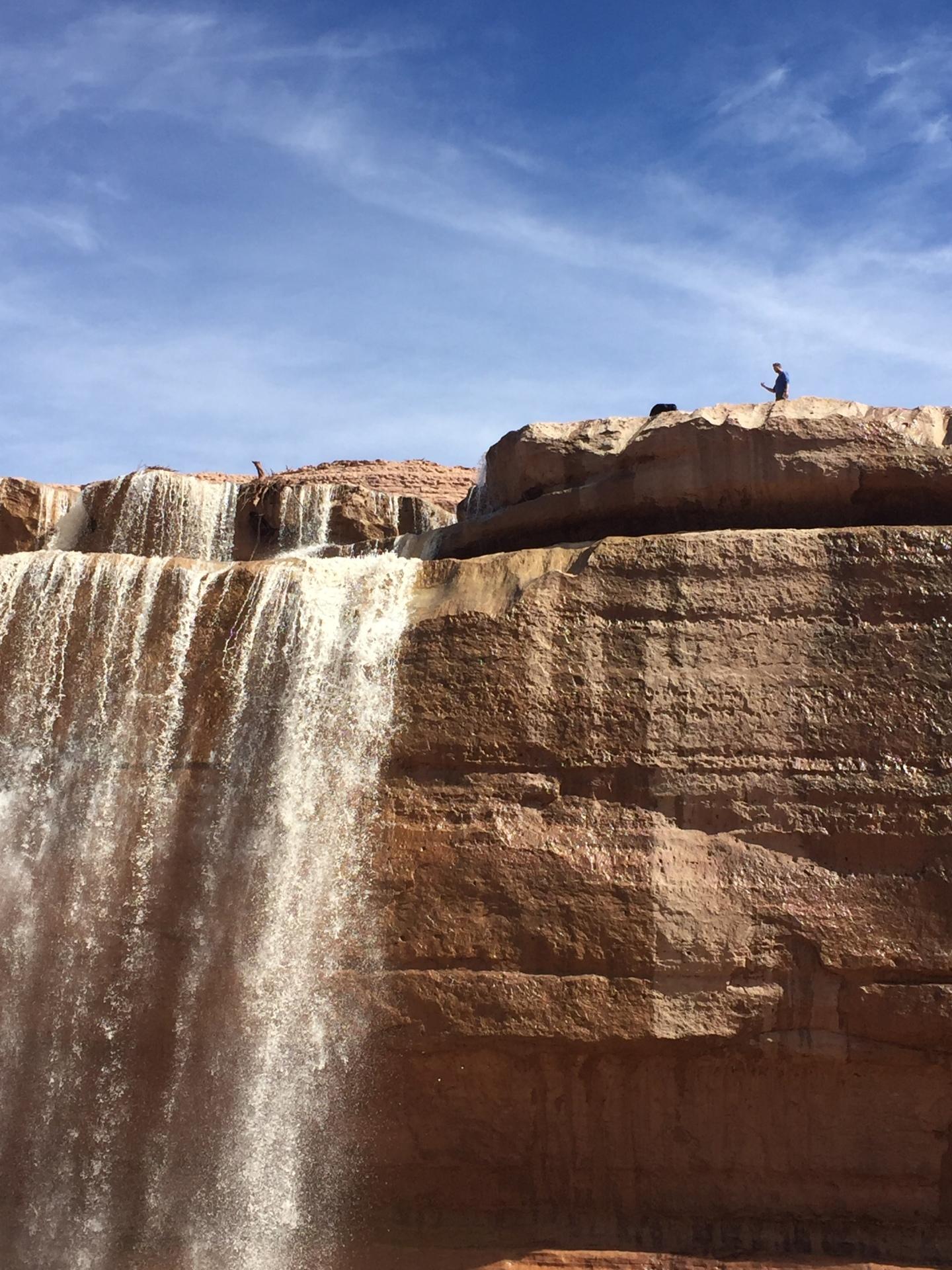grand falls flagstaff hiking
