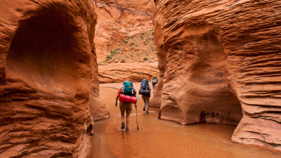Coyote Gulch Hiking, Grand Staircase National Monument