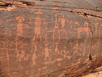 Paria Canyon Petroglyphs, Utah