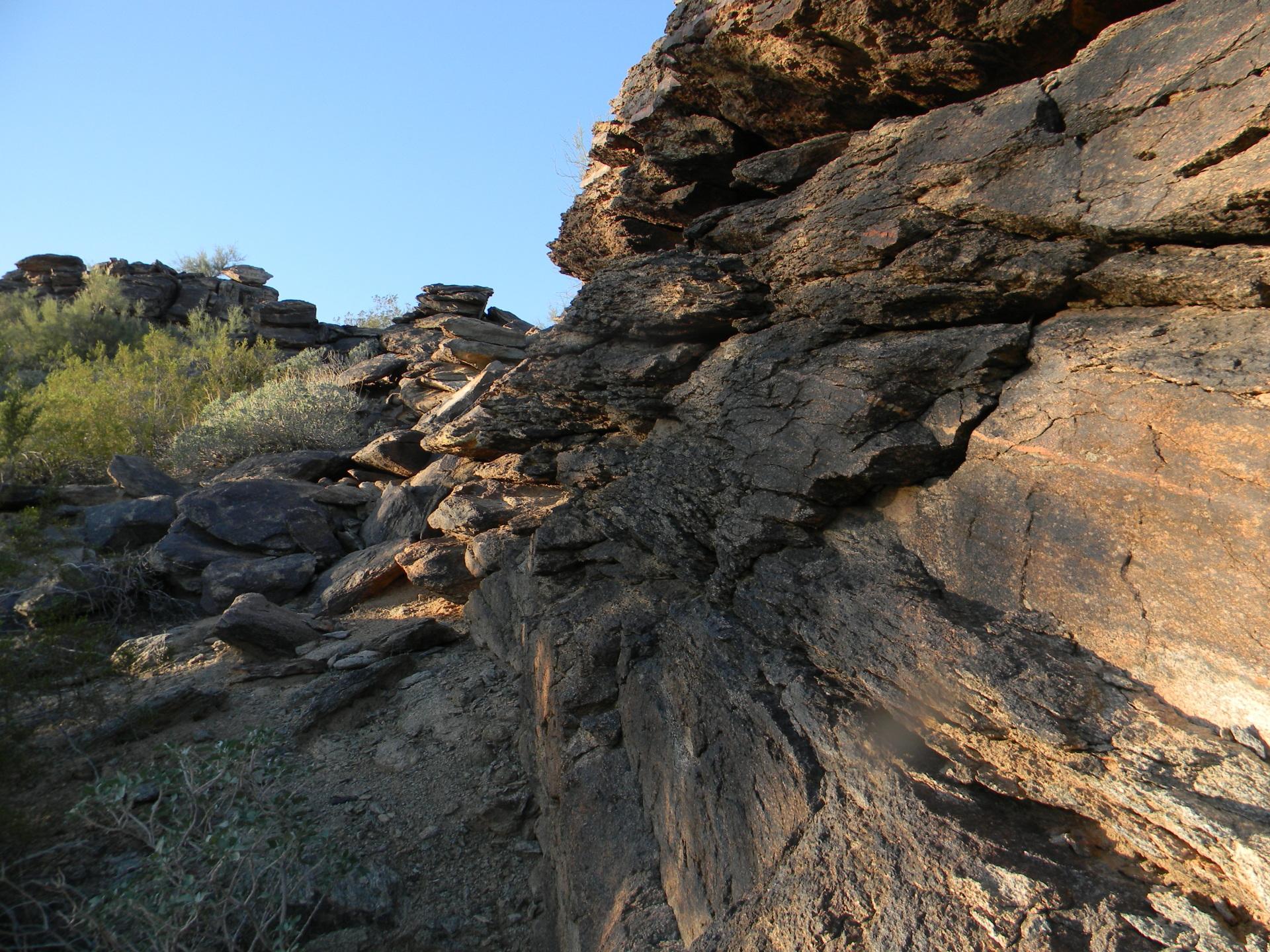 Granite Creek Canyon, Arizona Backpacking