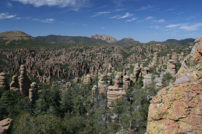 The Heart of Rocks, Chiricahua National Monument
