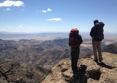 Chiricahua Mountains, Arizona Backpacking
