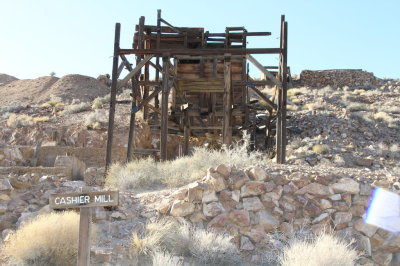 Abandoned Gold Mine, Death Valley