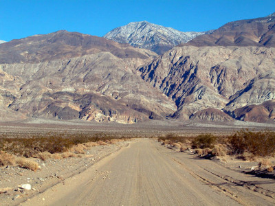 The Panamint Mountains, Death Valley