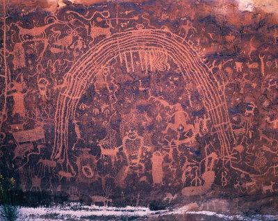Rochester Art Panel, San Rafael Swell Country, Utah