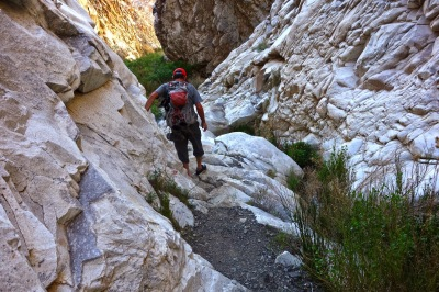 Hiking the Narrows of Surprise Canyon, Death Valley