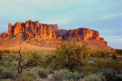 Superstition Mountain, Superstition Wilderness, Arizona