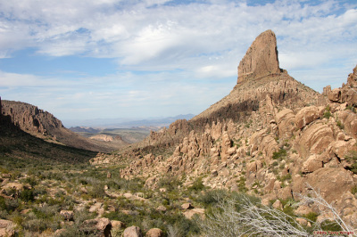 Weaver's Needle, Superstition Mountains, Arizona
