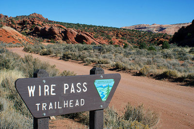 Wire Pass Trailhead, Paria-Canyon Vermillion Cliffs Wilderness