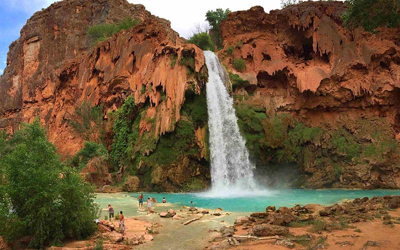 havasu falls havasu canyon grand canyon