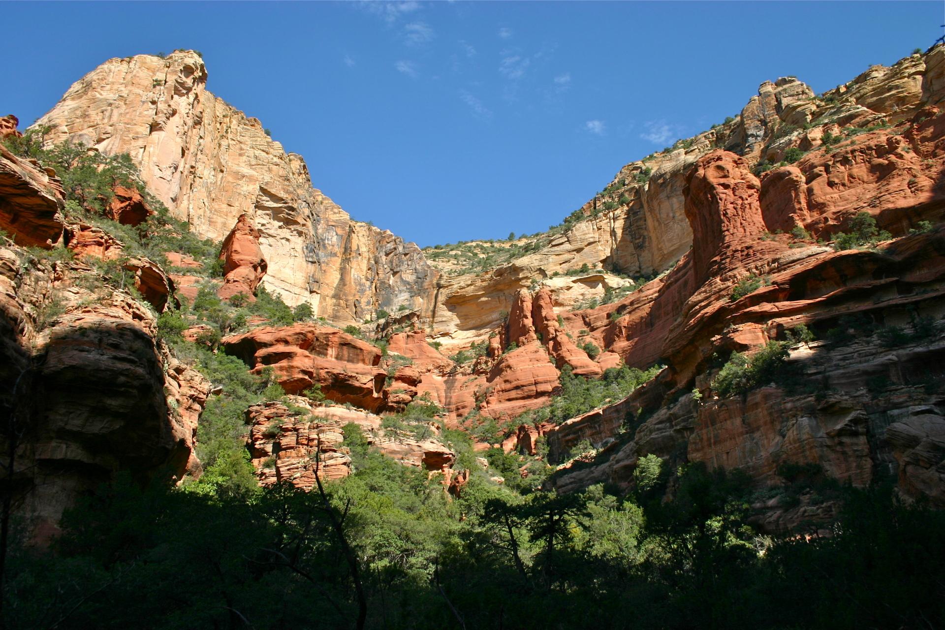 Fay Canyon in Sedona