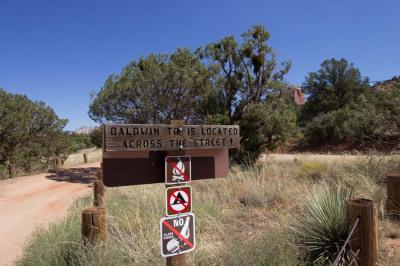baldwin trail sedona hiking
