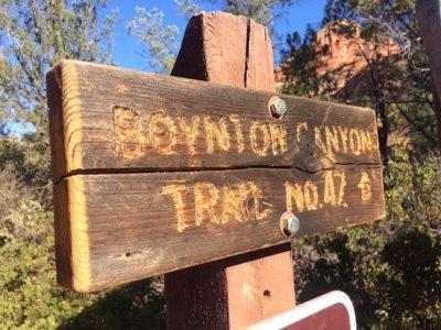 boynton canyon sedona hiking