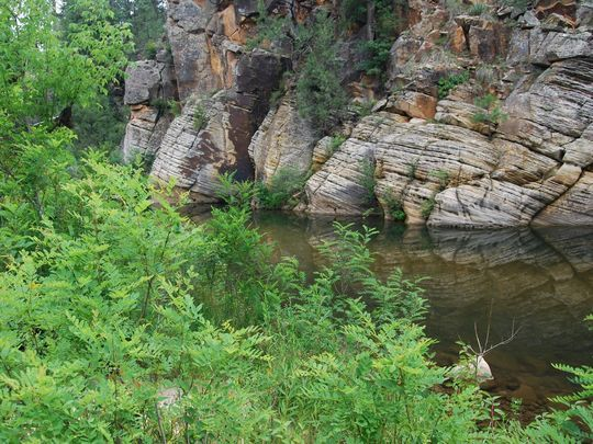 east clear creek mogollon rim hiking