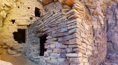 Native Cliff Dwellings, Superstition Mountains, Arizona