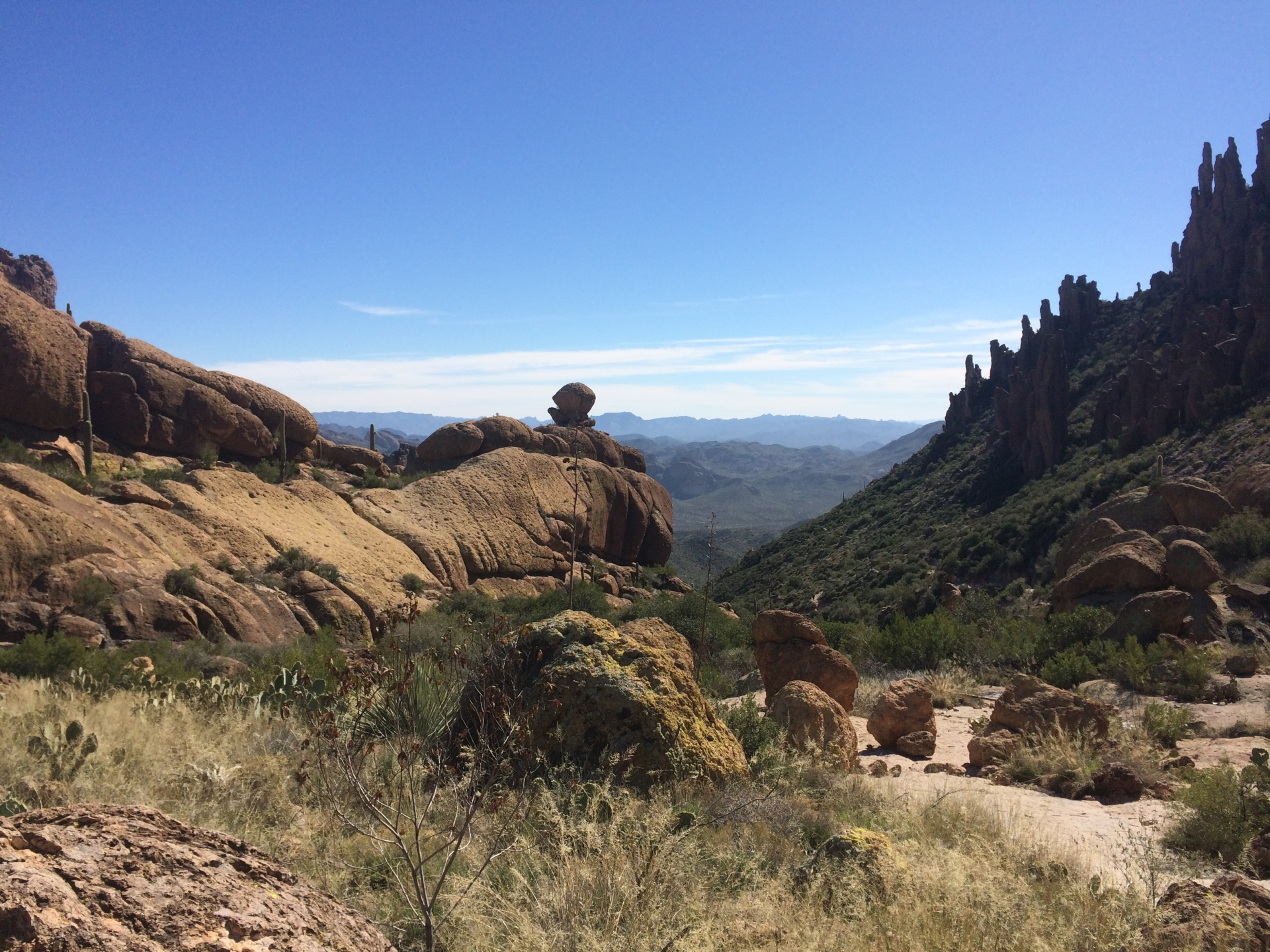 Peralta Canyon Trail Superstition Wilderness
