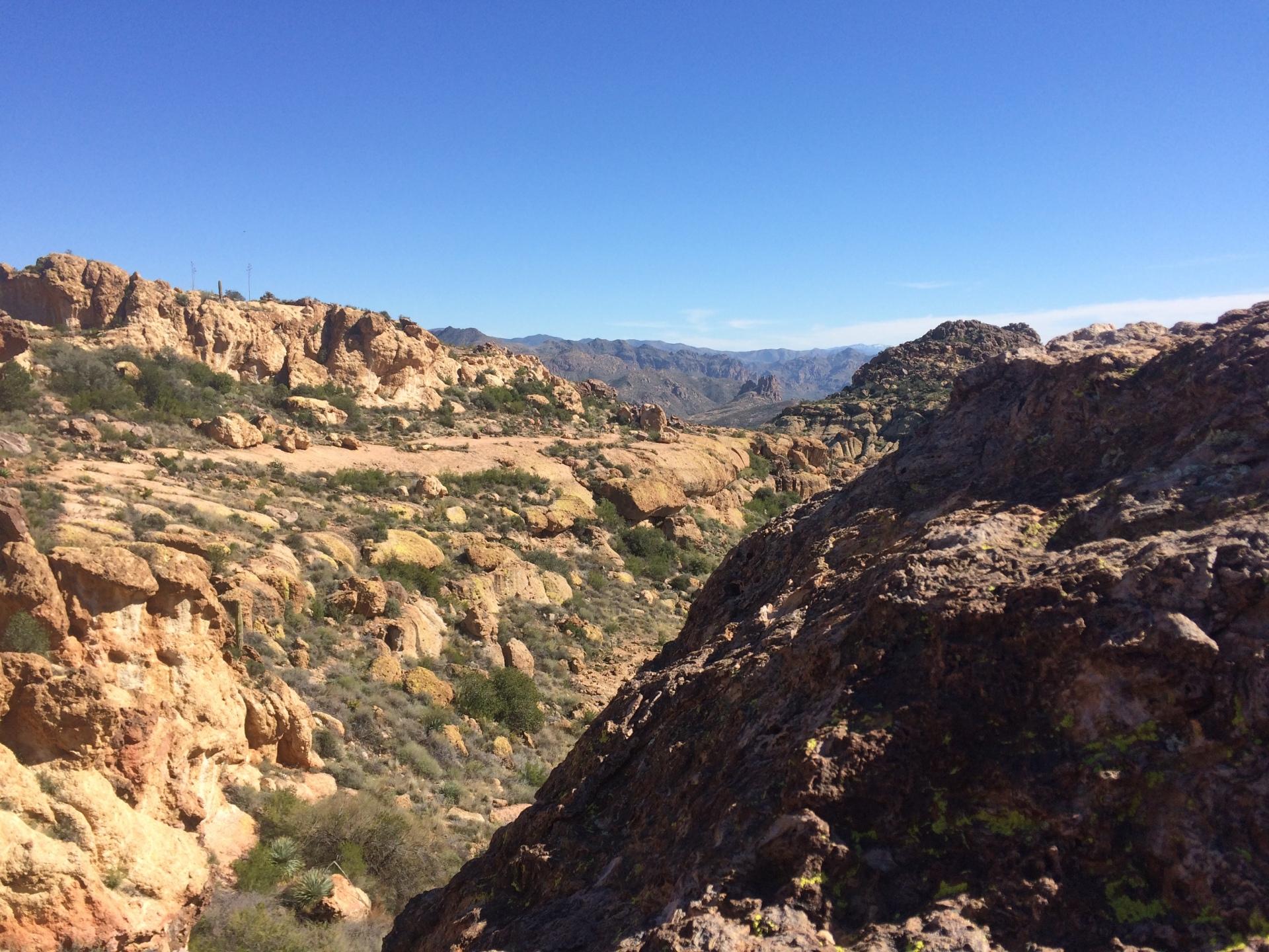 Lost Dutchman Trail Superstition Wilderness