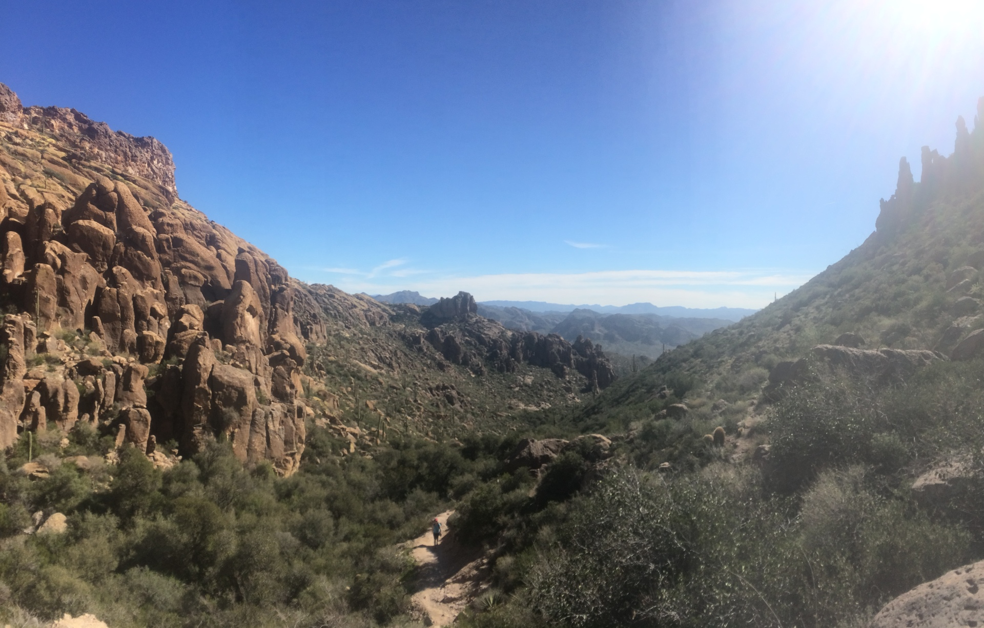 Peralta Canyon Superstition Wilderness