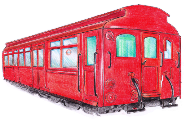 London Transport Museum: exhibit illustrations for published story book