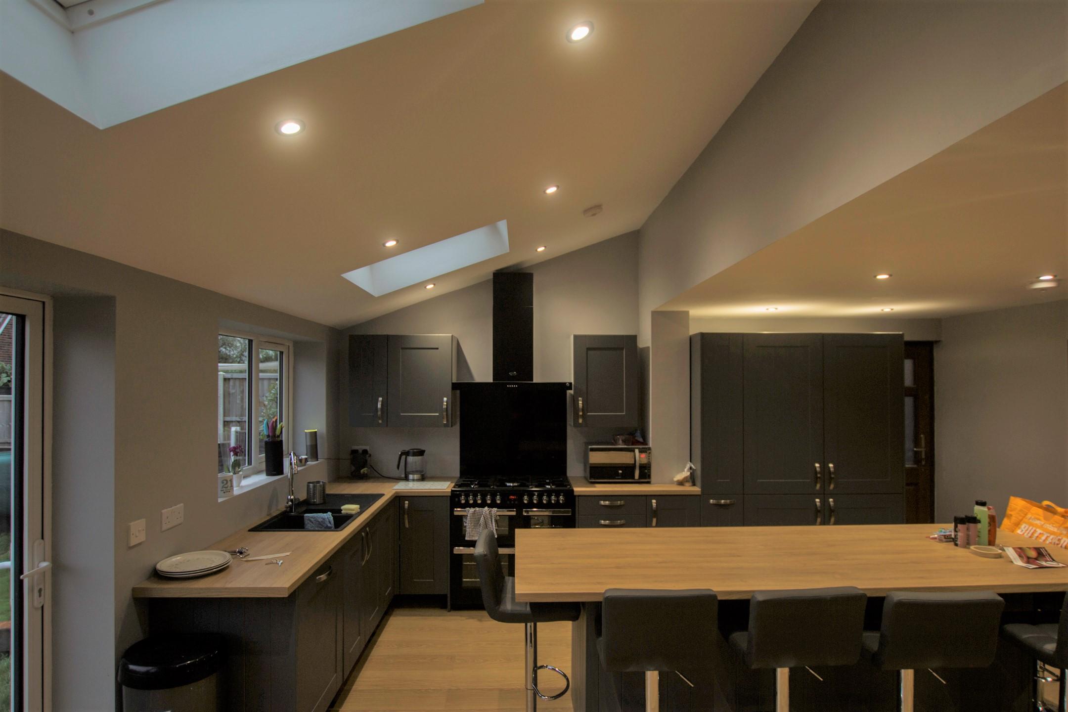 Single storey rear kitchen extension
