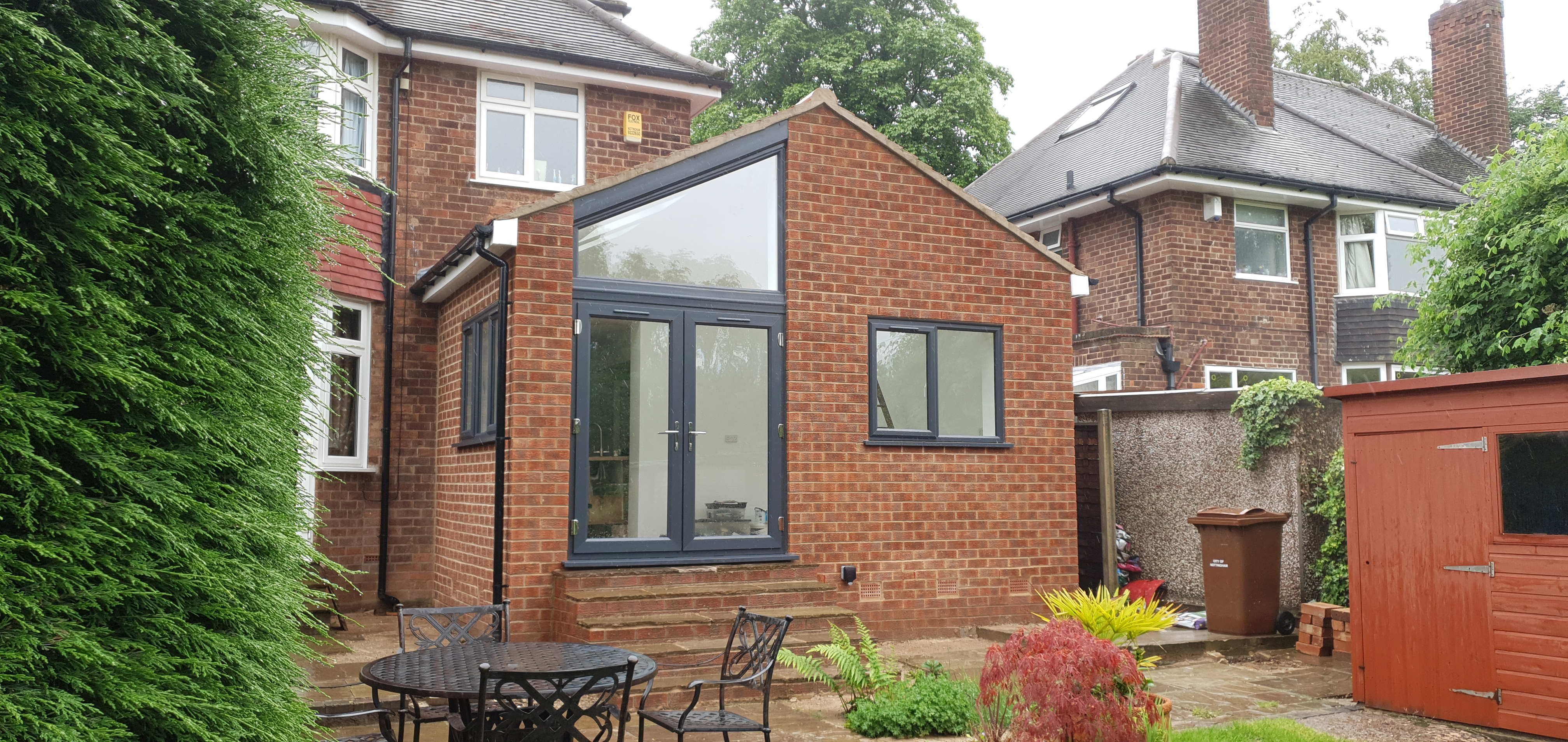 Single storey rear extension in Nottingham