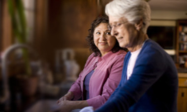 In-home elderly live-in care at home