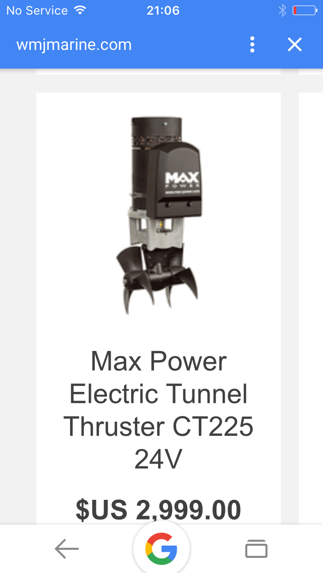 Max power CT225 24 v kit