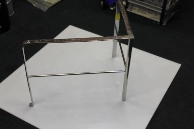 Stainless safety rail - £85